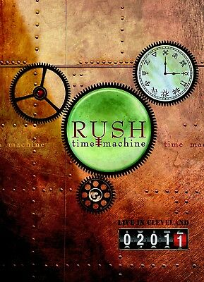 NEW DVD-  RUSH  -  TIME MACHINE  - LIVE IN CLEVELAND 2011 - 5.1 AUDIO - 243min