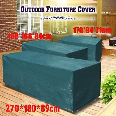 Waterproof Outdoor Patio Loveseat & Bench Cover Furniture Weather Protection FG