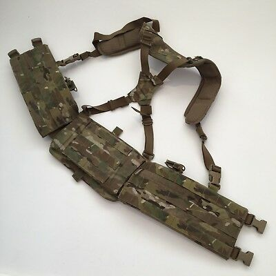 TYR Tactical COMA Sniper Harness Chest Rig Multicam Molle Recon Sotg Sasr Tbas