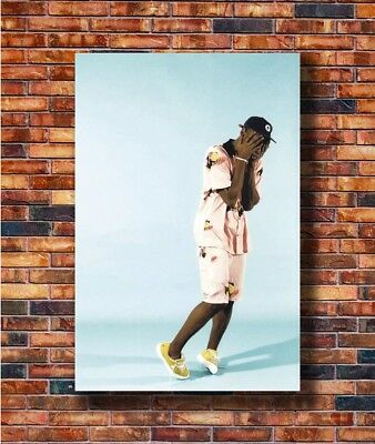 Hot Fabric Poster Tyler The Creator Flower Boy Rap Music Singer Star 36x24 Z2761