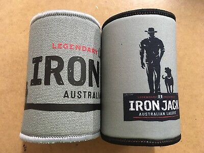 Iron Jack Stubby Holders X2