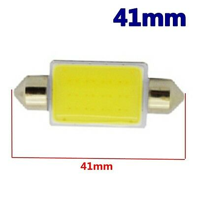 50Pcs 24V Festoon 41mm 42MM C5W LED Car Interior Led Bulb COB Light Dome Reading