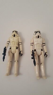 Star Wars Storm Troopers 1977 Lot of 2