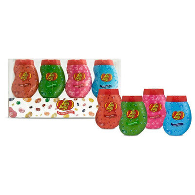 NEW Jelly Belly Assorted Body Washes 4-Pack 75ml