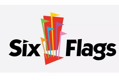 2 Six Flags ANY US park single day Ticket 2018