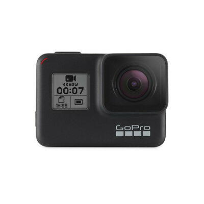 GoPro HERO7 Black — Waterproof Action Camera with Touch Screen 4K HD Video 12MP