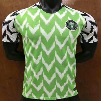 Football Shirts NIGERIA World Cup 2018 Jersey Home Green Christmas SALE