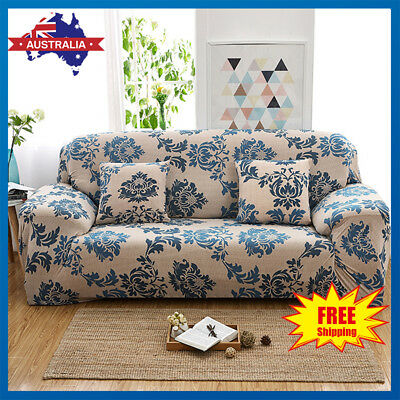 Sofa Cover Stretch 1 2 3 Seater Easy Fit Lounge Couch Recliner Cushion Slipcover