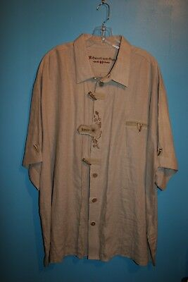 Authentic German Bavarian Oktoberfest Men's Trachten hirt 3XL - 4XL Size 49