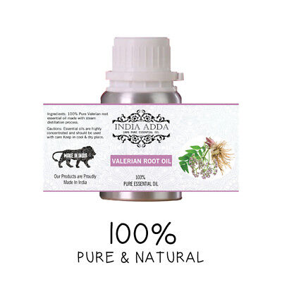 Valerian Root Oil Undiluted 100% Pure Natural Essential Oil 5 Ml To 100 Ml