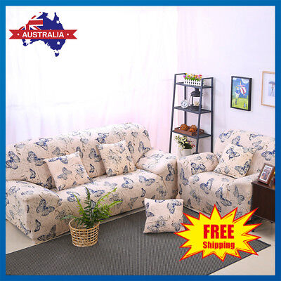 Printing Easy Stretch 1/2/3 Seater Couch Sofa Slipcover Recliner Protector Cover