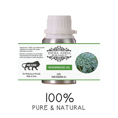 Wormwood Oil Undiluted 100% Pure Natural Essential Oil 5 Ml To 100 Ml