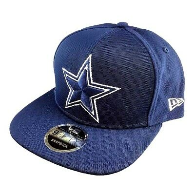 9747f9f06c1c5 Dallas Cowboys Nfl New Era 9Fifty Blue Color Rush Kickoff Reverse Snapback  Hat