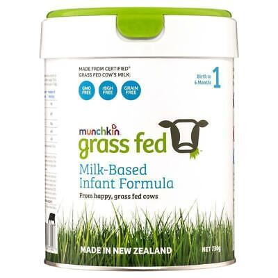 New Munchkin Grass Fed Milk-Based Infant Formula Stage 1 730g