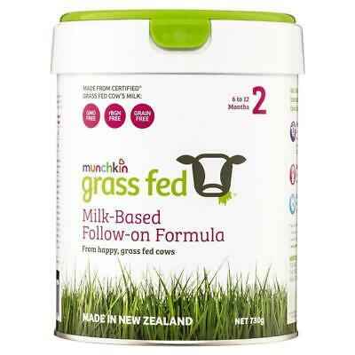 New Munchkin Grass Fed Milk-Based Follow On Formula Stage 2 730g