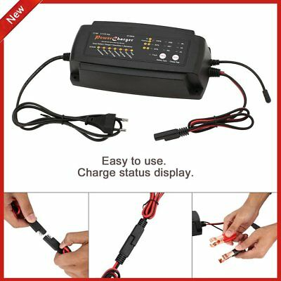 12V 2A/4A/8A 7 STAGE AUTOMATIC Van Smart BATTERY MAINTENANCE CAR CHARGER G
