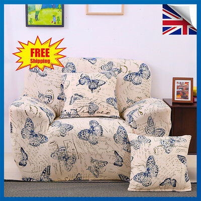 Easy Stretch Sofa Slipcover Stretch Protector Armchair Couch Cover -1/2/3 Seater