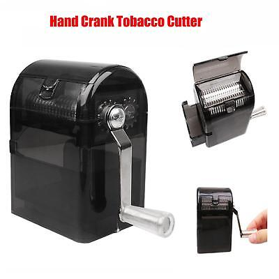 Herb Grinder Tobacco Cutter Hand Muller Shredder with Tobacco Storage Case New
