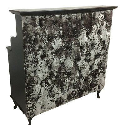 Reception Desk with padded front - Salon Counter Retail Cash and Wrap