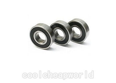 40pcs 687-2RS 687RS 687 RS 2RS 7x14x5mm Rubber Sealed Deep Groove Ball Bearing