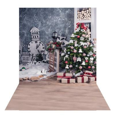 Andoer 1.5 * 2m Christmas Photography Background Backdrop Digital Printing Gift