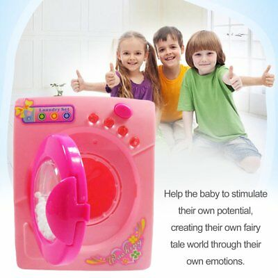 Simulation Toys Electric Washing Machine Plastic Kids Children Play House Toy MS