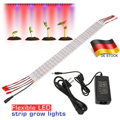 Grow Light Strip 25W 1.64ft LED Grow Light Bar für Zimmerpflanzen Hydroponics