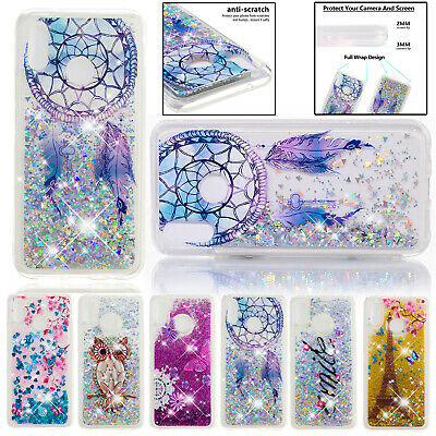 For Huawei P20 Pro Case P Smart Glitter Quicksand TPU Silicone Slim Clear Cover