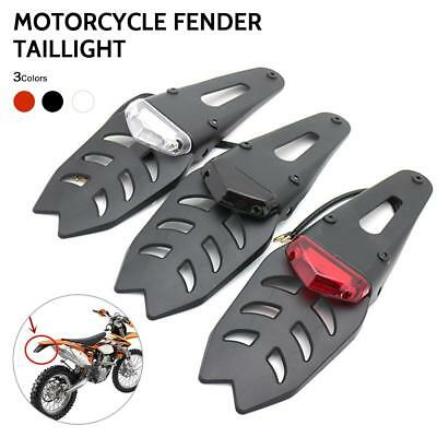 Taillight Light Sport Road Dual Dirt Brake Bike Rear Fender LED Motocross R99M