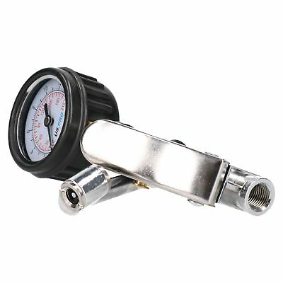 """3/8"""" BSP Retractable Air Hose Kit With Fittings / Tyre Inflator / Blow Dust Gun"""