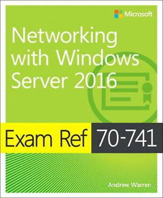 Exam Ref 70-741 Networking with Windows Server 2016 - Quick delivery - Pdf