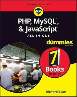 PHP, MySQL & JavaScript All in One For Dummies - Quick delivery - Pdf -