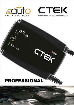 CTEK PRO25S Battery Charger 12V vehicle battery including Lithium-Ion (LiFePO4)