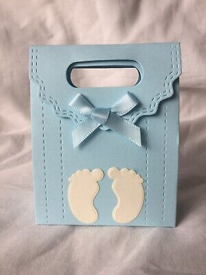 10 X Baby Shower Gift / Favour Boxes - Baby Shower / Christening