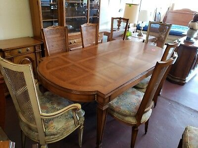 KARGES French Louis XVI  Dining Room Table with 8 chairs