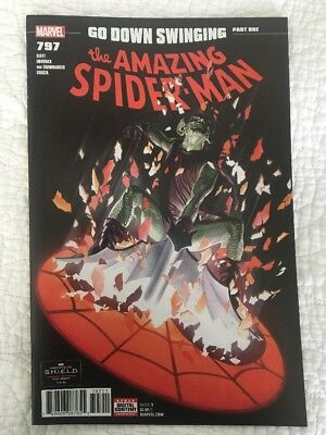 AMAZING SPIDER-MAN #797 1st PRINT Cover A Red Goblin Alex Ross Cover