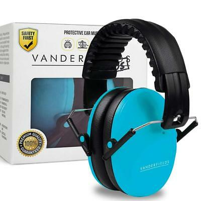 Ear Noise Protection for Kids Hear Muff Vanderfields Reduction Headphone 26DB