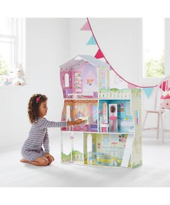 Wooden Children's Dolls house Glamour Mansion  Playset - Xmas Gift