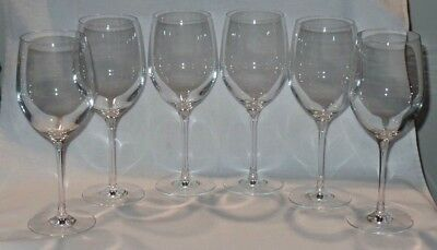 Sommelier by Waterford Crystal All Purpose 20 oz Wine Goblets Glasses - Set of 6