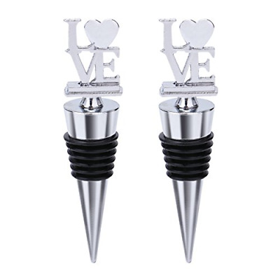 ecorative Love Wine and Beverage Bottle Stopper for Wine,Made of Zinc Alloy and