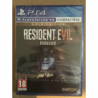 Resident Evil 7 Biohazard Gold Edition (PS4) VR Compatible New and Sealed
