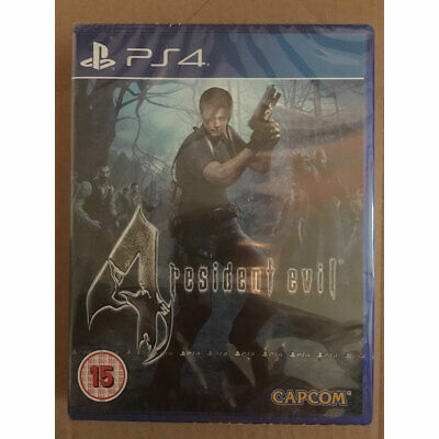 Resident Evil 4 HD Remastered (PS4) New and Sealed