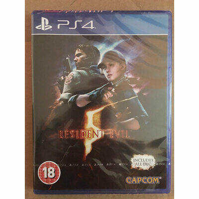 Resident Evil 5 HD Remake inc All DLC (PS4) New and Sealed