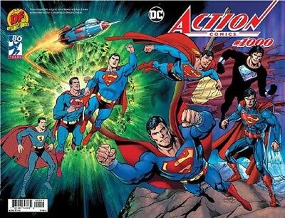 Action Comics 1000 Dan Jurgens Df Color Wraparound Variant In Hand