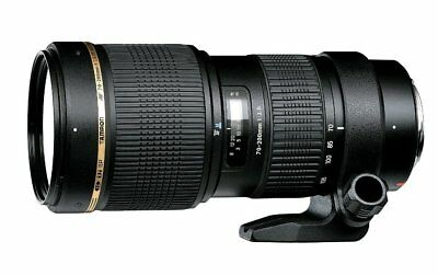 TAMRON Large Aperture Telephoto Zoom Lens SP AF 70-200mm F 2.8 Di for Nikon New