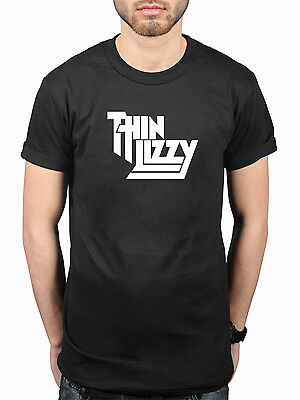 Official Thin Lizzy Classic Logo NEW T-Shirt Rock Metal Band Merch Skid Row Dare