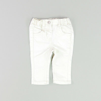 Pantalón color Blanco marca Kitchoun 6 Meses  150531
