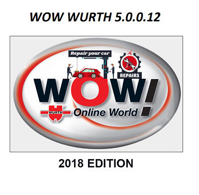 Car Diagnostic Wow Wurth 5.00.12 - 2018 Cars Tester Software