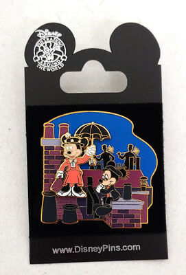 Disney Mickey and Minnie in Mary Poppins Pin NM