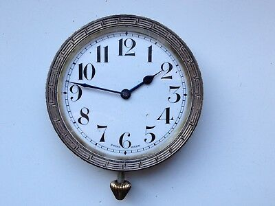 Vintage Excellia 7 Jewels Swiss Made Manual Wind Car Clock Spares Repairs Parts